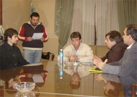 Firman Convenio FERROTUR TRASANDINO y MUNICIPIO de MAIPU, Mendoza